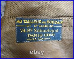 Tenue vareuse pantalon Lieutenant du 315 régiment d'artillerie (anti-char) WW2