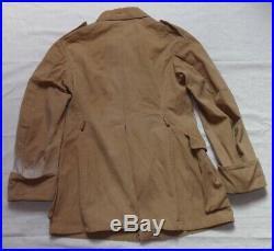 Tenue vareuse/veste + culotte/pantalon officier Troupes Coloniales français WW2