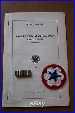 The Officier Guide Us Army Waac Et Accessoires Et En Parfait Etat Ww2