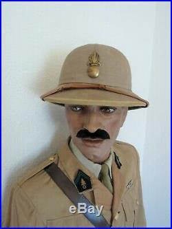 Tonquin Lot Tenue Uniforme Casque Officier De La Legion Étrangère 1939/1942