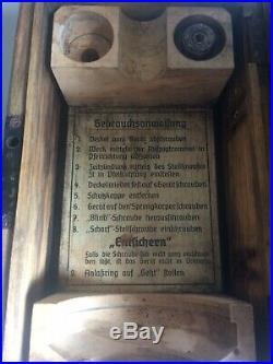Très Rare ALLEMAND 2WW minuteur Système D Horlogerie J FEDER 504