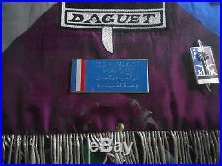 Tres Rare Cadre Avec Fanion De L Operation Daguet 1991