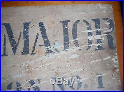 Tres Rare Pancarte Para GB Trouver A Caen 1944