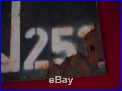 Tres Rare Panneau De Signalisation Du 2 Rgt De Para All 1944