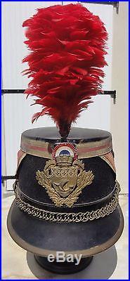 Très beau SHAKO de la Garde Républicaine Garde de Paris modèle 1930 complet