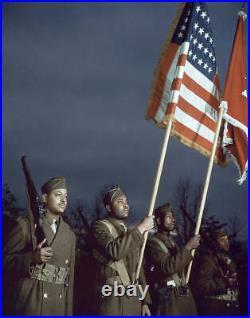 Très rare baudrier Color guard US WW1 et WW2 Original