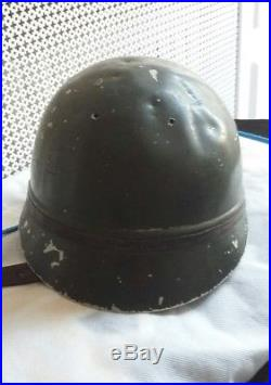 Tres rare casque radio de char France 40 poilu tank BCC RCC Maginot