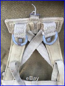 Triangle Dassaut Allemand AK Equipement Pionnier Sturmgepack, Normandie