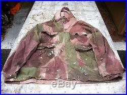 ULTRA RARE Pantalon et Veste de Commando de parachutiste britannique WW2 1943