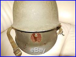 Us Wwii Casque Fixed Avec Rare Type 3 Westinghouse Liner 1942