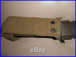 Us Wwii M-3 Avec Fourreau Camellus 1943