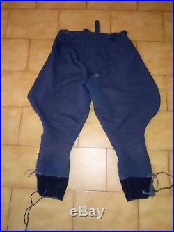 Uniforme allemand ww2 waffenrock Luftwaffe veste et pantalon authentiques