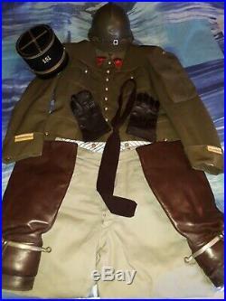 Uniforme complet d'un lieutenant français du 161 RAP WW2 militaria