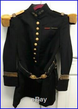 Uniforme d'un Commandant d'Infanterie Coloniale mod. 1931