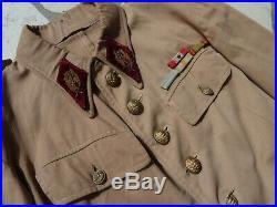 Uniforme médecin guerre du RIF, troupes sahariennes, spahis
