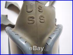 Us Ww2 Masque Para M1a1 1941 Complet Avec Sa Housse D'origine Excellent Etat