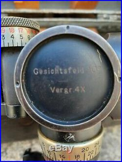 VISEUR DE TIR pour char Stug 3 RUNDBLICKFERNROHR origine Allemagne