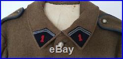 Vareuse 20/35 france 40 cavalerie 1er hussard soldat français Stonne Tannay 1940