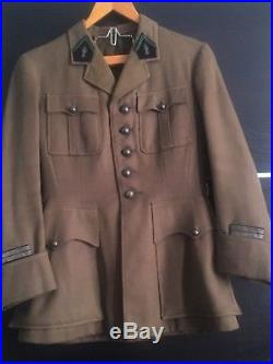 Vareuse Lieutenant Chasseur A Cheval 1939 France 40 Ww2