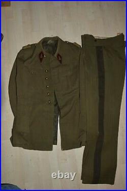 Vareuse & Pantalon Capitaine Medecin-campagne De France 1940-liberation 1943/45