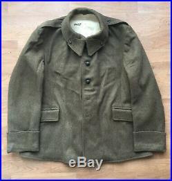 Vareuse modèle 1938 NEUVE! France 40 veste troupes infanterie 38 1939 drap kaki