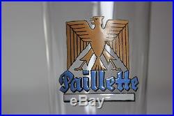 Verre a biere emaillé paillette le havre 1939-1945 §