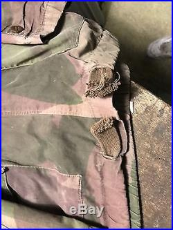 Veste Anglaise Du Soldat Camoufle Sûrement Utilisé Info Indochine