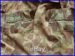 Veste Army HBT 43 camouflée WW2 TAP Indochine