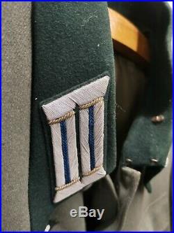 Veste Assistant Docteur WW2 Avec Documents