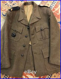 Veste Mod. 41 Franc-garde Collaboration Occupation Wwii 1939-45 Resistance Vichy