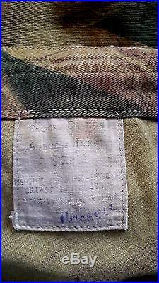 Veste de saut, Denison Smock, parachutiste anglais 2e Guerre mondiale