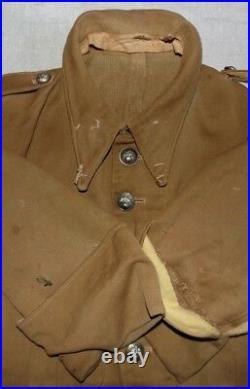 Veste été en toile côtelée Gendarmerie Départementale français WW2 France 1940