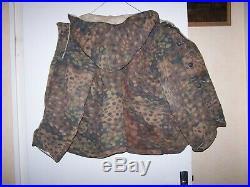 Veste réversible camouflage armée Allemande WWII 1939/1945 SUPERBE