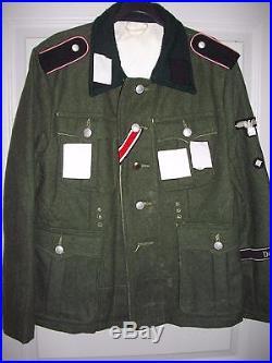 Veste uniforme soldat allemand WWII seconde guerre mondiale militaria