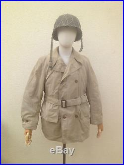 Veste us mackinaw ffl ww2 libération indochine 1944 allemagne artillerie RTM ffi