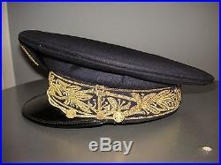 Vieille casquette Amiral marine