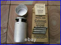 Vintage Coleman Stove 520. WWII. 1943