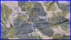 Voilure camouflée de parachute US ARMY WW2 1943