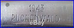 WW2 CANIF DE L ARMEE ALLEMANDE DE 1943 Buchenwald Rareté