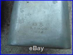 WW2 Lot Relic divers Musette 36 US Gourde Coque Casque Porte Pelle Cagoule