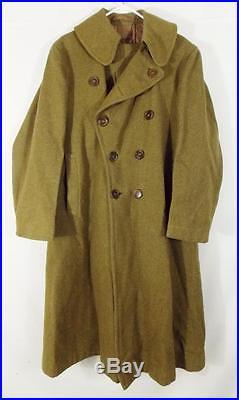 WW2 Manteau Militaire Laine U. S ARMY Field Coat Soldat Americains 39-45 RARE