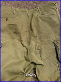 WW2 Pantalon M42 Paratrooper Airborne Original