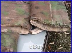 Ww2 Troupe Élite Allemand Parka &pantalon Réversibles Camouflés Ardennes 1944