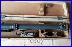 WW2 Télémètre optique Allemand Seconde Guerre Mondiale 1.35M avec accessoires