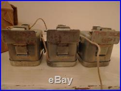 WW2 US ARMY 3 bobby trap boîte démolition resistance SOE M1 materiel original