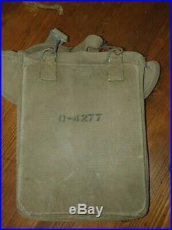 WW2 us m36 505 pir paratrooper airborne musette bag no casque