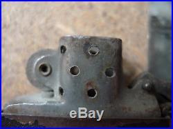 WWII US ARMY VINTAGE Zippo Lighter Black Crackle 3 Barrel 14 Hole RARE briquet