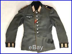 Waffenrock de cavalerie troupe Wehrmacht Heer WW2 / 2e GM