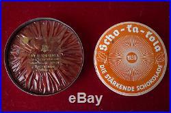 Wehrmacht Boite Chocolat Ration Allemande Contenu 1939 Schokakola 100% Original