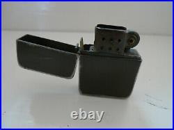 Ww2 Briquet Tempete Vert Lighter Style Od Zippo Parachutiste Materiel Original